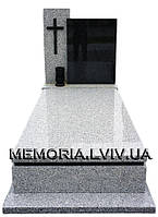 Одинарний гранітний памятник 1123
