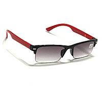 Полуоправные очки с тонированной линзой, фото 1