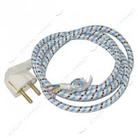 Шнур для Утюга усиленный ЕВРО 1,5м  (3*0.75)