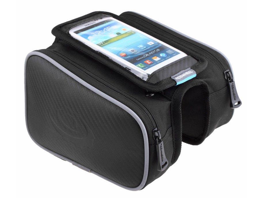 """Сумка Roswheel с боковыми карманами, на раму, для телефона 5.5"""", фото 1"""