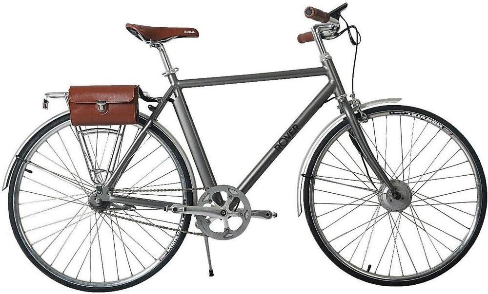 Электровелосипед Rover Vintage Brushed alu