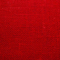 Мешковина цветная (лен 100%) - цвет красный