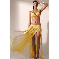 Элегантная пляжная макси-юбка