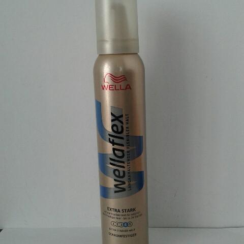 Мусс для волос Wellaflex Extra stark 200 мл. (Велла экстра сильная фиксация №4  )