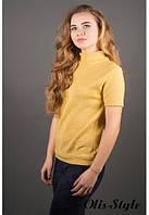 Женская желтая кофта Белис Olis-Style 46-52 размеры