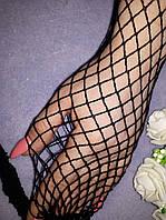 Колготки жіночі у велику сіточку (1/2) Італія, фото 1