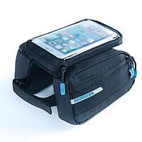 """Сумка Roswheel с боковыми карманами, на раму, для телефона 5.5"""""""