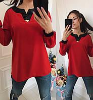 Стильная женская блузка 44, 46, 48 розница 7 км Одесса