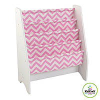 Детский стеллаж KidKraft 14233 White & Pink Pattern