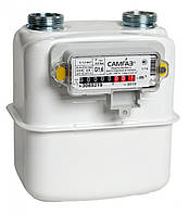 Газовый счетчик САМГАЗ G 4 RS/2001-21P бытовой мембранный
