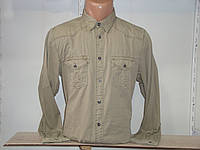 Мужская оливковая рубашка с длинным рукавом Scout, фото 1