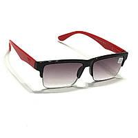 Мужские полуоправные очки с тонированной линзой , фото 1