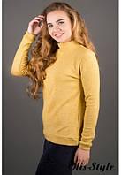 Женская желтая кофта Айри Olis-Style 46-52 размеры