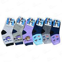 Носки детские махровые для мальчика в полоску TM Jujube Y120 (в упаковке 12 ед.)