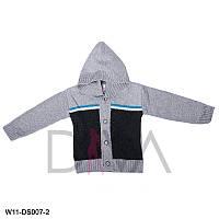 Кофта детская вязаная с капюшоном Арт. W11-DS007-2 (в упаковке 3 шт.)