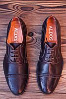 Мужские туфли броги Aldos , 28 см, 43 размер. Код: 406.