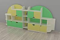 """Мебель для игрушек """"Планета"""" 3270*400*1535h"""