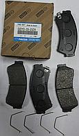 Оригинальные передние колодки Mazda 6