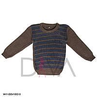 Турецкий свитер детский теплый от производителя дешево Арт. W11-DSV1002-3 (3 шт. в упаковке)
