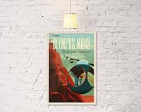 """Винтажный плакат """"Olympus  mons"""""""