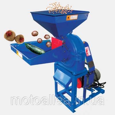 Кормоизмельчитель ДТЗ КР-23 для измельчения зерна, качанов кукурузы, овощей, стеблей, фруктов. Мощн. 2,8 кВт.