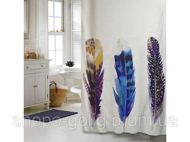Изысканные, стильные шторки для ванной и душа