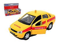 Машина игрушка Welly модель LADA KALINA техпомощь (m+)