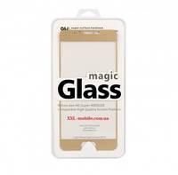 Meizu M3 Max Защитное стекло Full Screen 3D Gold цветная рамка