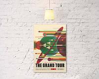 """Винтажный плакат """"The grand tour"""""""