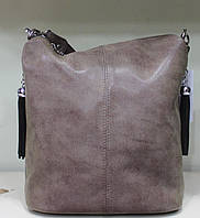 Сумка торба женская коричневая однотонная Производитель Украина 17-35270-2