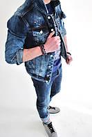 Мужская куртка джинсовая dsquared