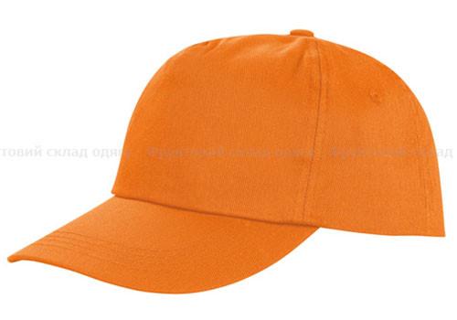 Оранжевая кепка унисекс