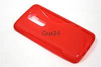 Чехол накладка для LG G2 красный, фото 1