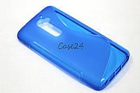 Чехол накладка для LG G2 синий, фото 1