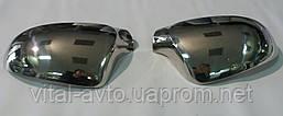 Накладки на зеркала заднего вида Mitsubishi Lancer X c 2008 г.