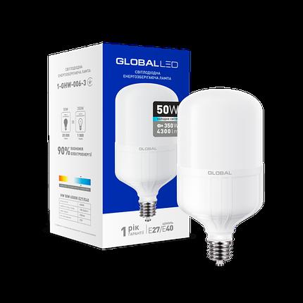 Светодиодная лампа Global 50Вт Е40, фото 2