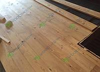 Половая  доска АВ Сибирская лиственница, полы в деревянном доме