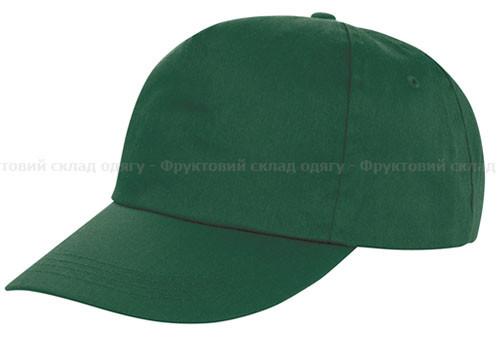 Мужская темно-зеленая кепка
