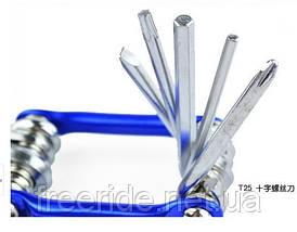 ВелоНабор шестигранников, отверток, выжимка цепи, фото 2
