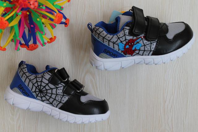 детские кроссовки человек паук style-baby.com