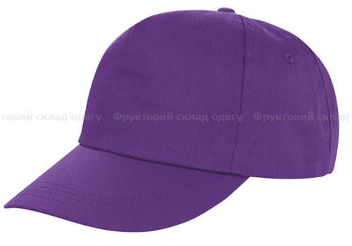 Мужская кепка фиолетовый цвет