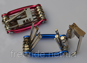 ВелоНабор шестигранников, отверток, выжимка цепи, фото 3
