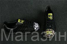 Женские кроссовки Adidas Superstar Pharrell Supershell Black Адидас Суперстар черные, фото 3