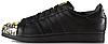 Женские кроссовки Adidas Superstar Pharrell Supershell Black Адидас Суперстар черные