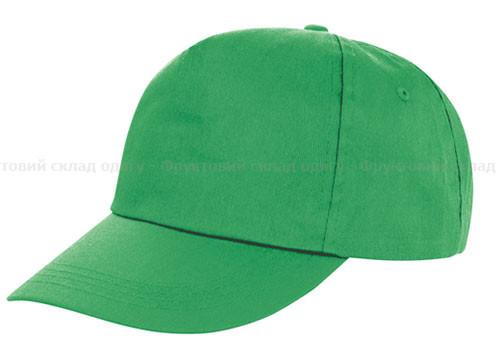Мужская кепка ярко-зеленая