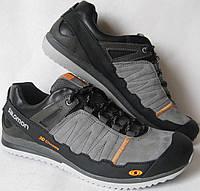 Salomon мужские весенние удобные кроссовки ботинки туфли кожа