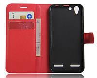 Чехол-бумажник для Lenovo A6020 vibe k5 K5 plus