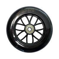 Колесо переднее черное 120 мм для самоката Micro Mini Sporty