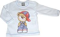 Джемпер Мишка в кепці дитячий для хлопчика, фото 1