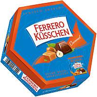 Конфеты Ferrero Kusschen caramel (ферреро), 186 гр., фото 1